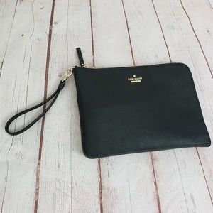 Kate Spade leather wristlet